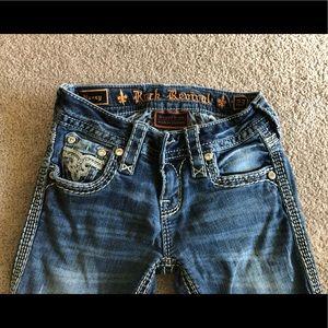Size 23 Bootcut Rock Revival Jeans